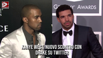 Kanye West, nuovo scontro con Drake su Twitter